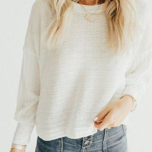 DELTA knit sweater - medium - CJLAA